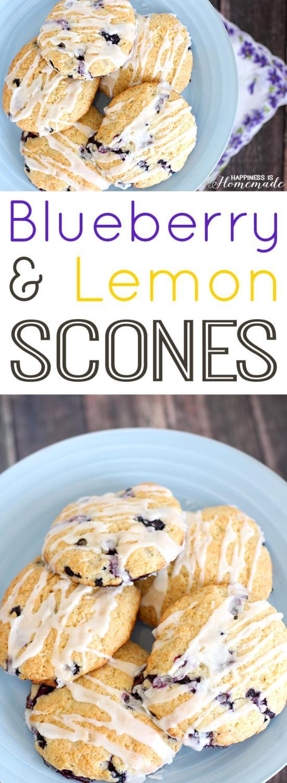 The Best Blueberry Lemon Scone Recipe Ever