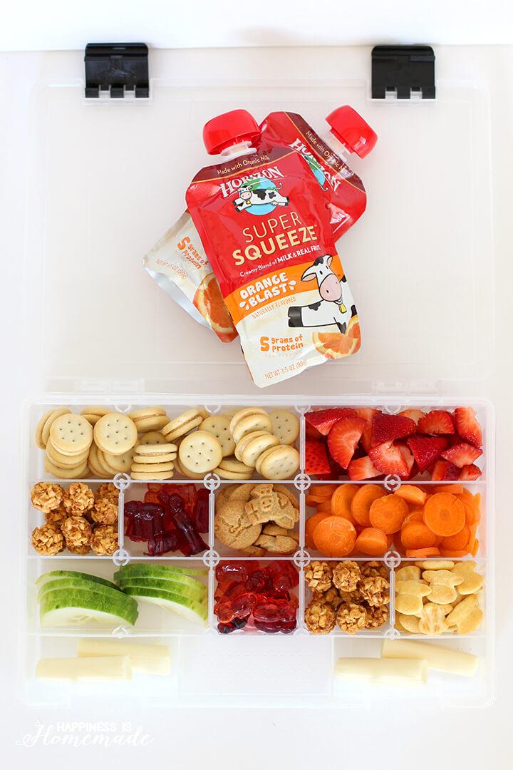 Travel Snack Box
