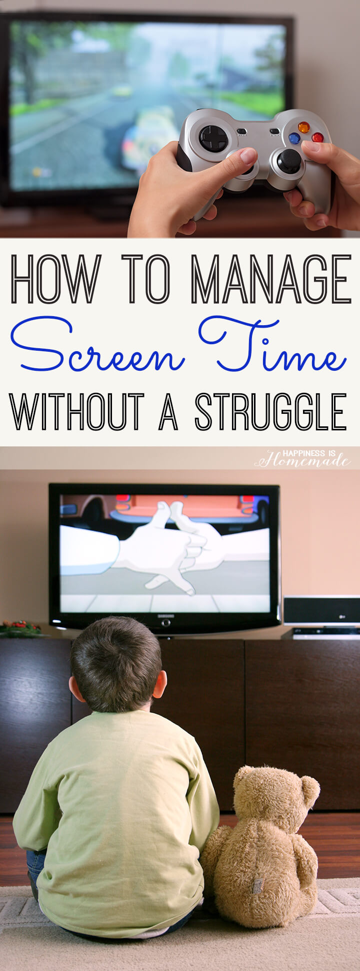 How to Mange Your Child's Screen Time Without a Struggle