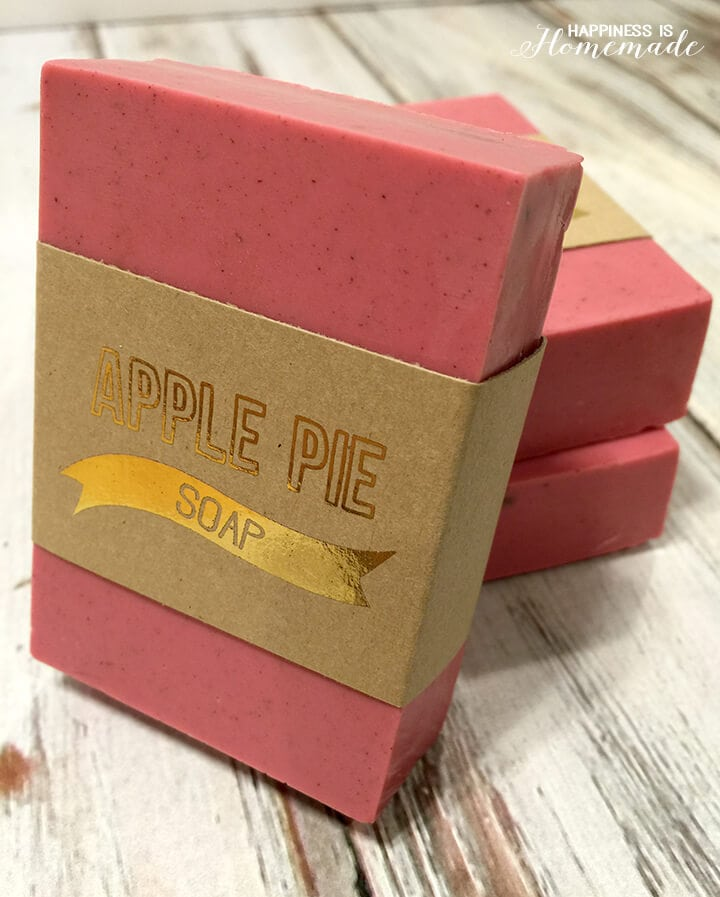 10-Minute Apple Pie Soap Recipe
