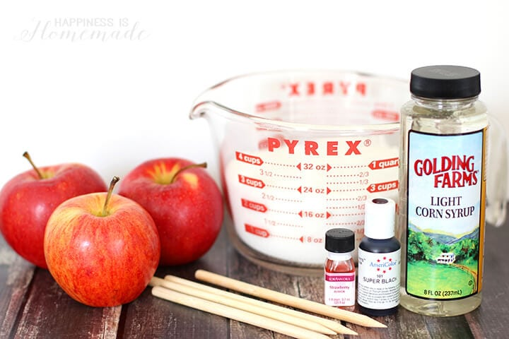 Black Candy Apple Ingredients and Recipe