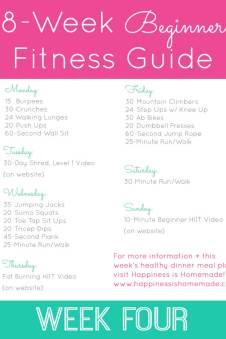 8-Week Beginner Fitness Jumpstart - Get Ready! - Happiness
