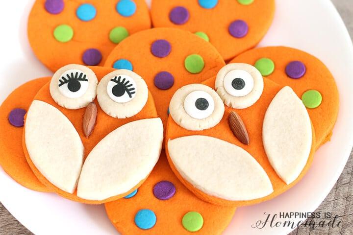 Adorable Owl Cookies