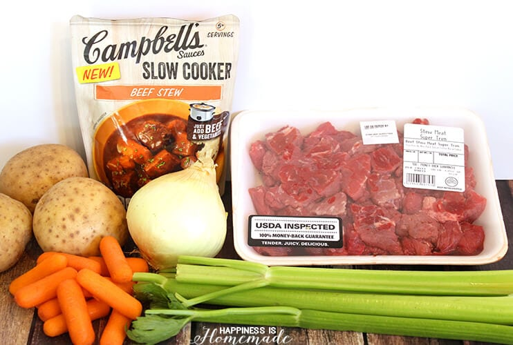 Campbell's Sauces - Slow Cooker Beef Stew