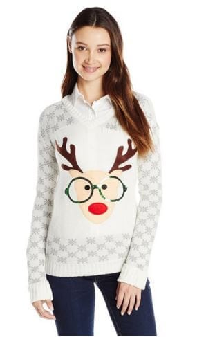 Nerdy Reindeer Christmas Sweater