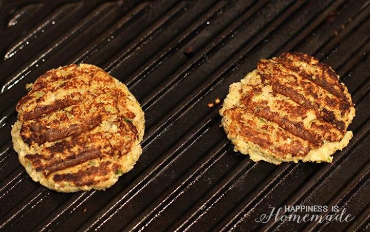 Grilled Veggie Patty Sliders