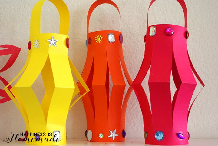 Paper Lanterns for Chinese New Year