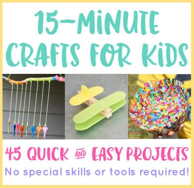 The Crafty Crow 3 Colorful Art Craft Science Kids Projects To Start Week