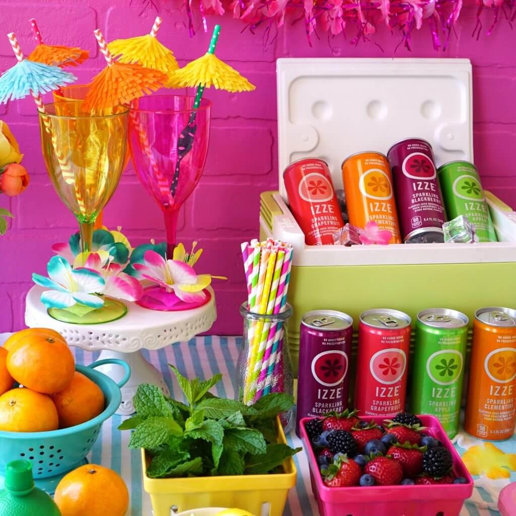 IZZE DIY Cocktail Party