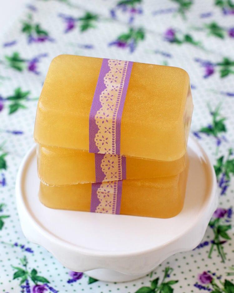 honey-lavender-soap