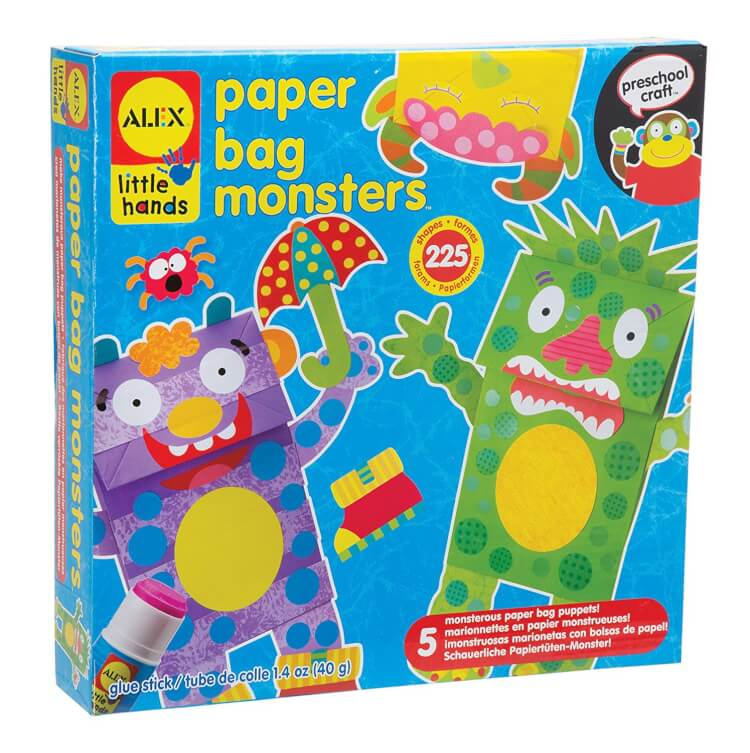 paper-bag-monster-puppets