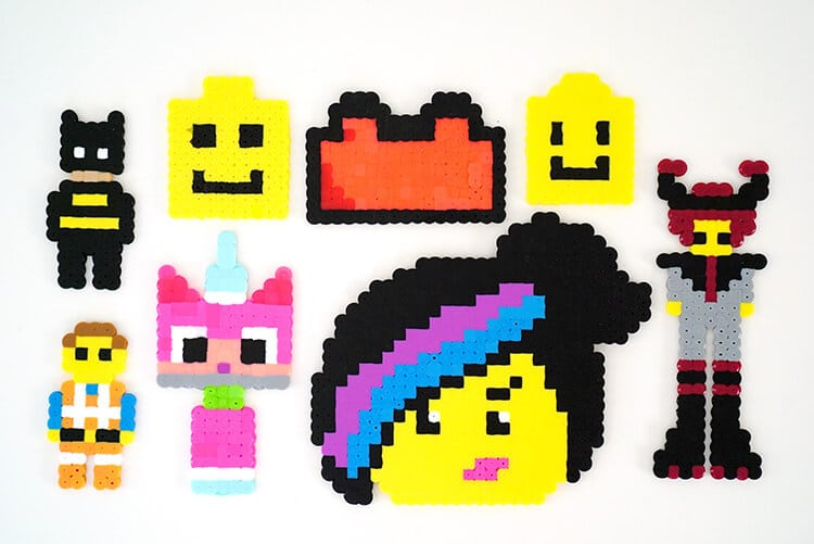perler-bead-lego-movie-characters