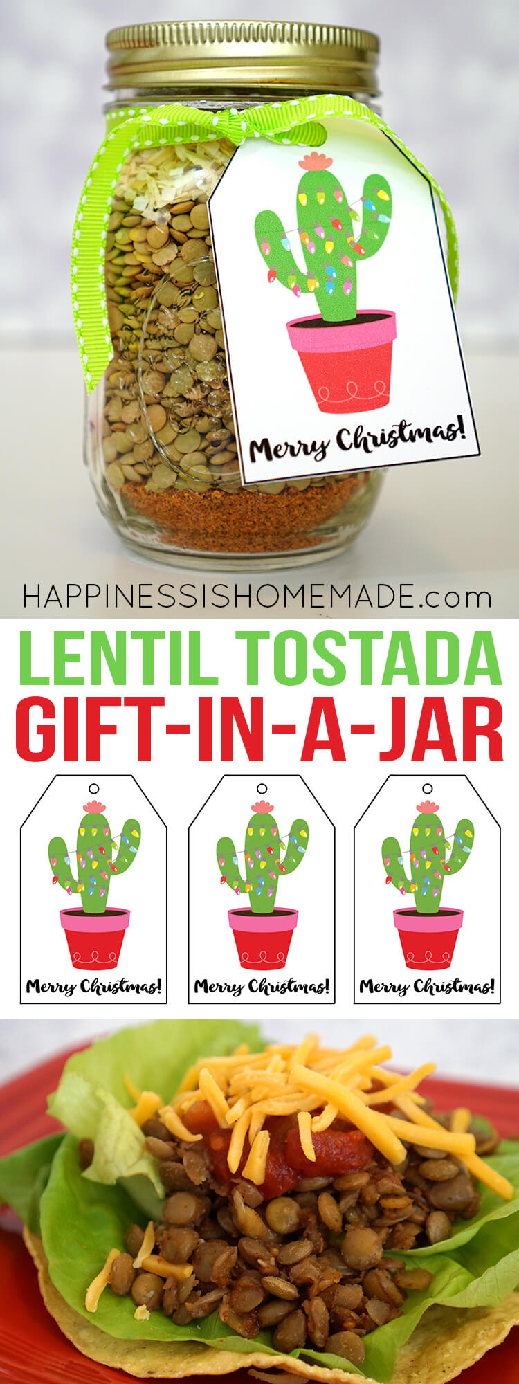 lentil-tostada-mix-gift-in-a-jar-and-printable-christmas-cactus-gift-tags