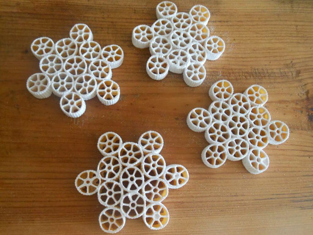 pasta-snowflakes