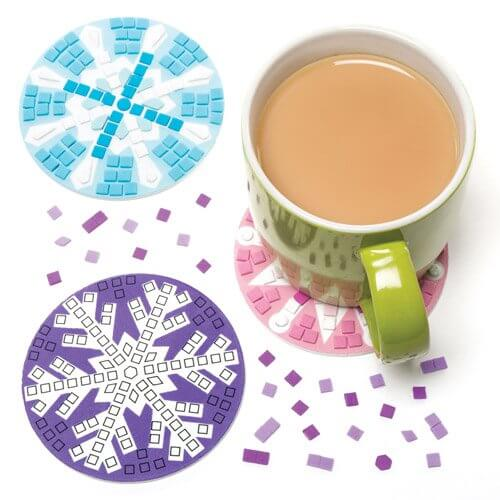 snowflake-coasters