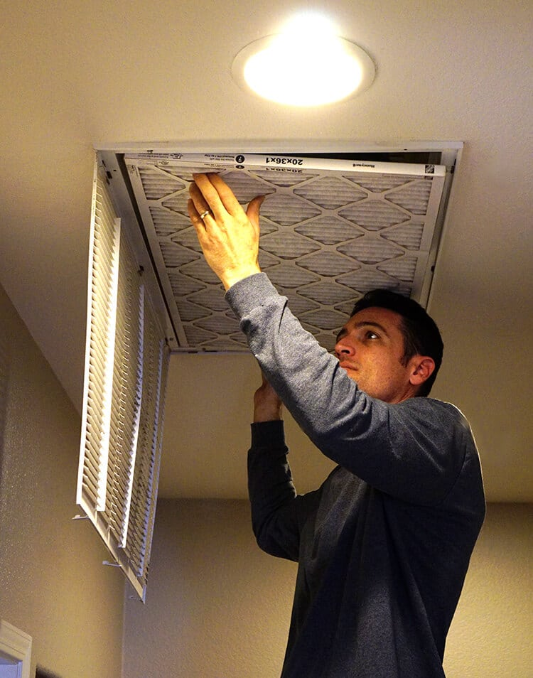 Change Your Air Filters Regularly