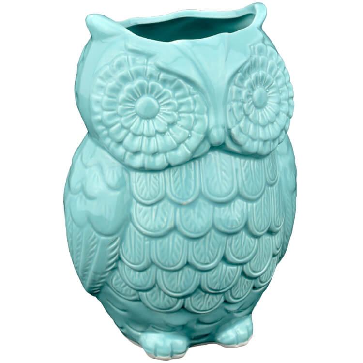 owl-ceramic-utensil-holder