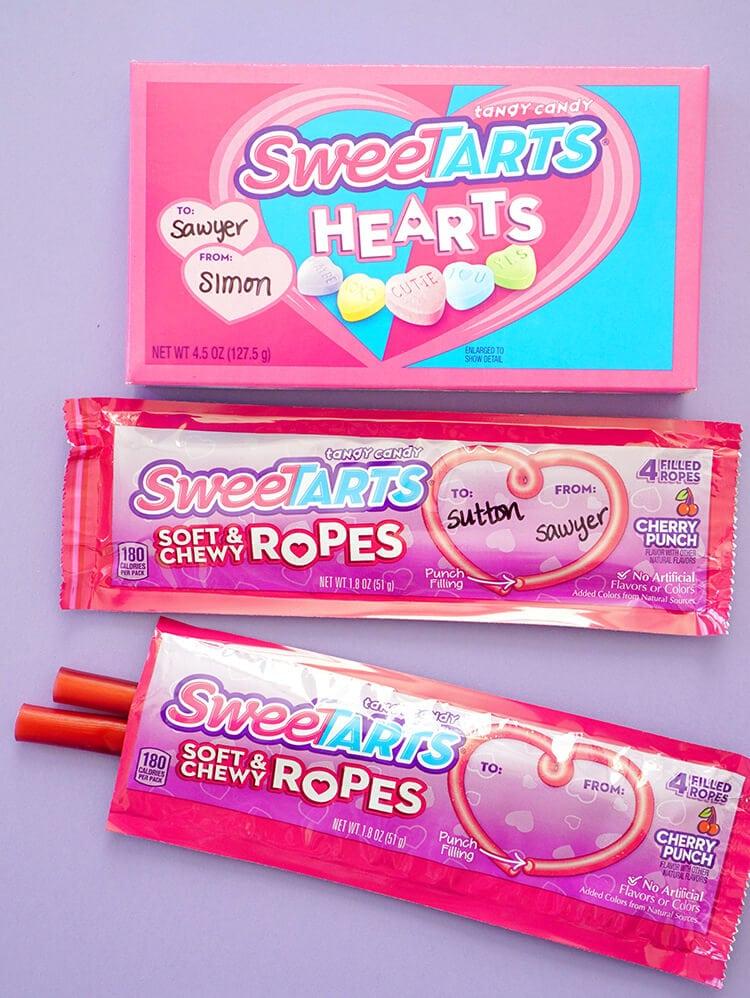 SweeTART Hearts and Ropes