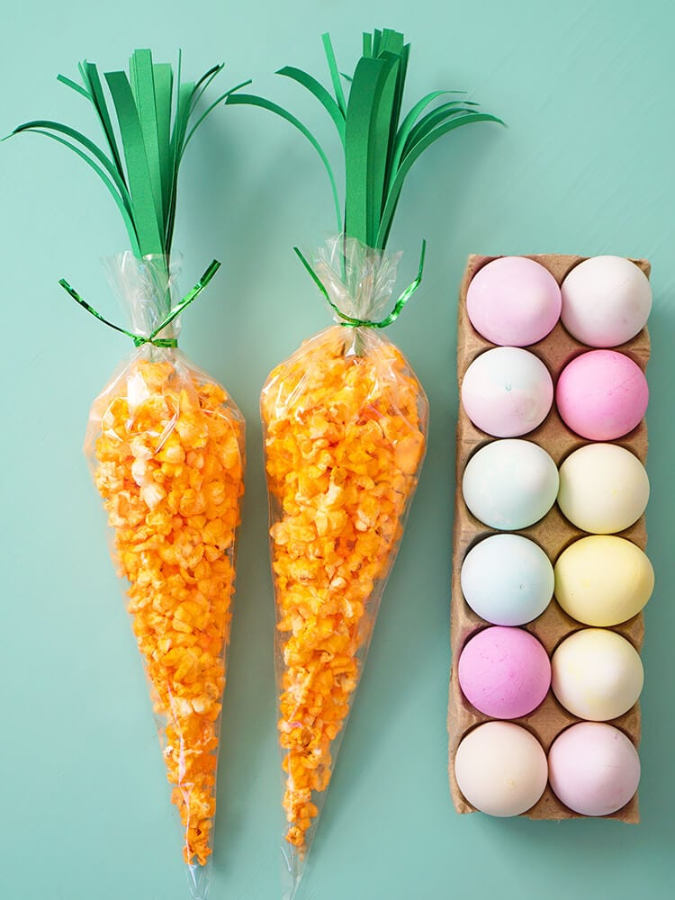 Carrot Treat Bags For Easter Happiness Is Homemade