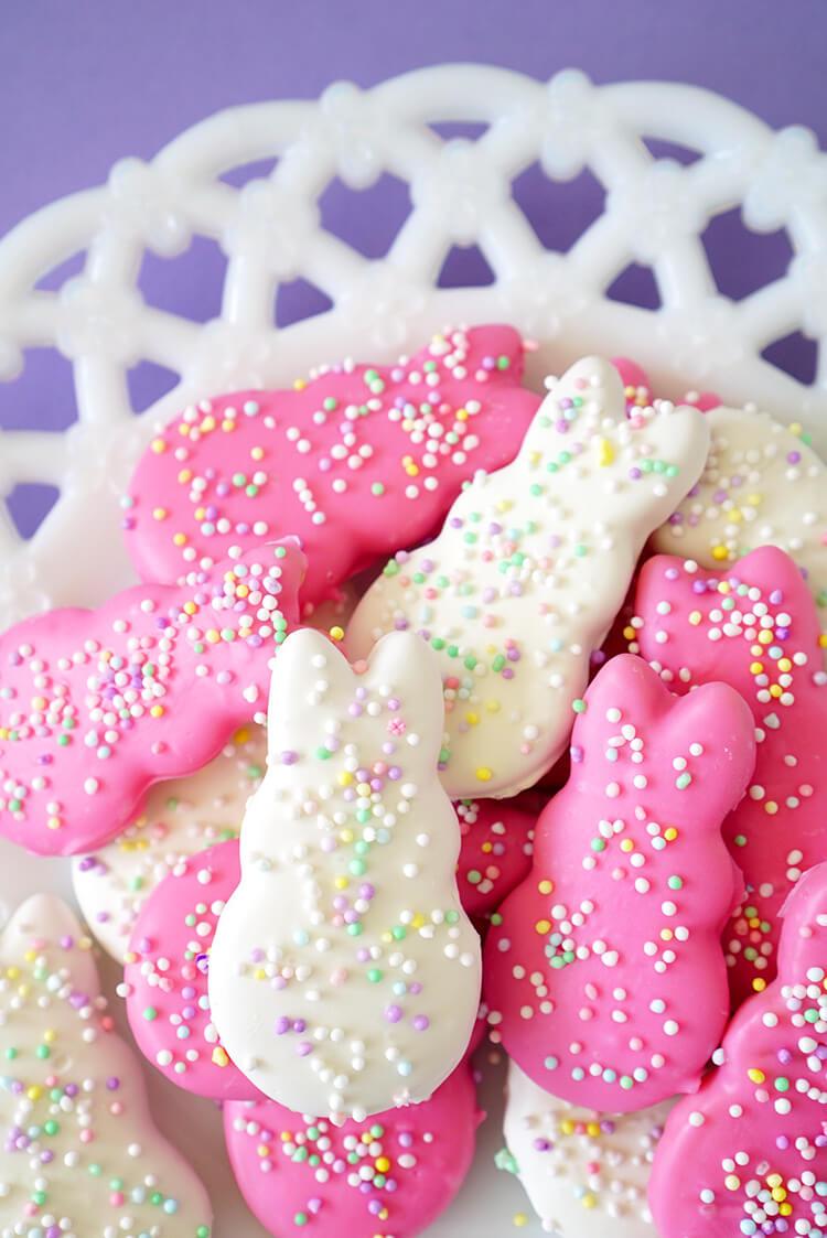 Easter Bunny Circus Animal Cookies