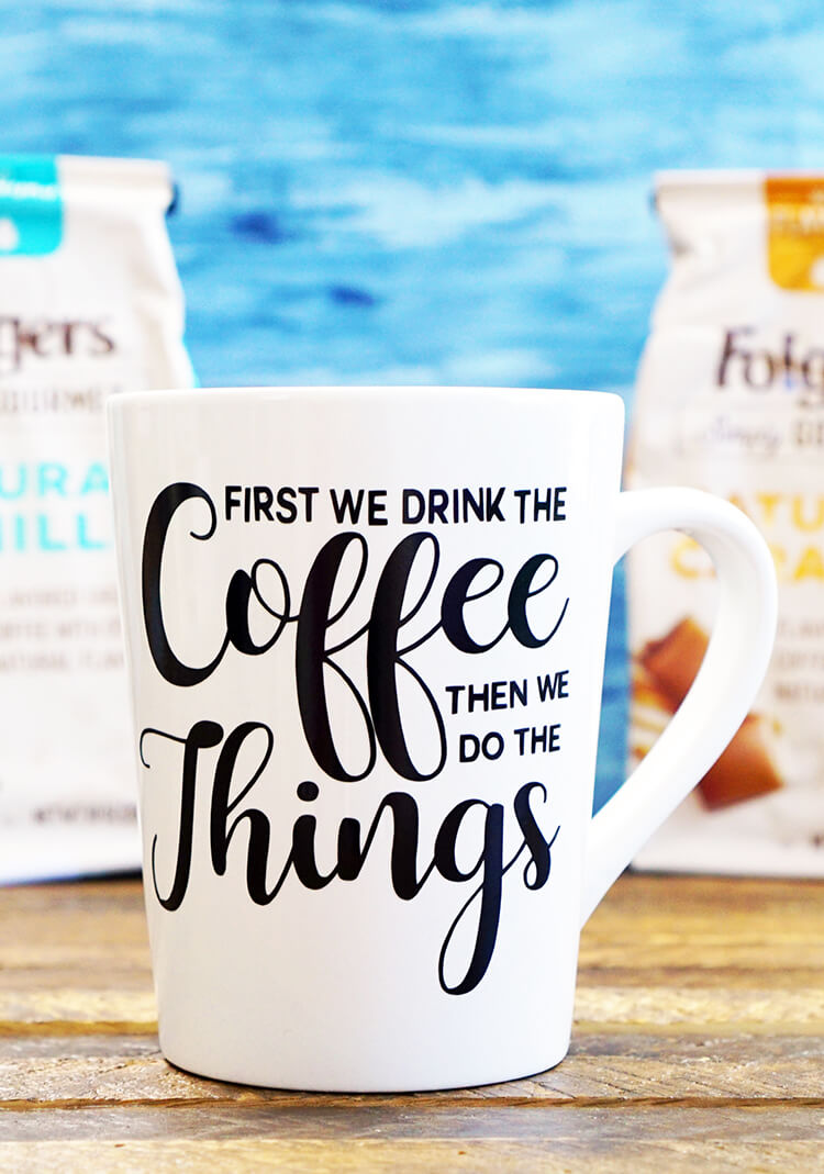 Cricut Coffee Mug Ideas : cricut, coffee, ideas, Funny, Coffee, Files, Happiness, Homemade