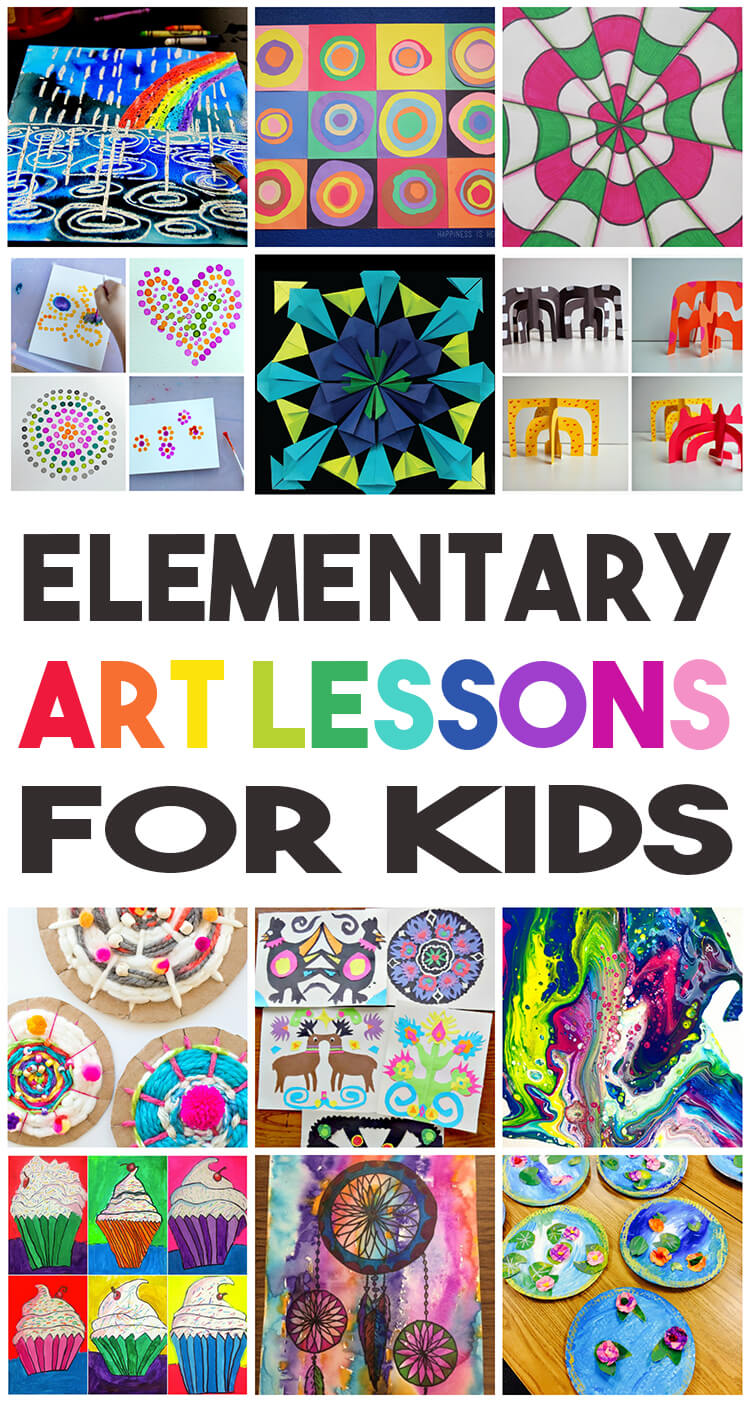 Elementary Art Lessons for Kids