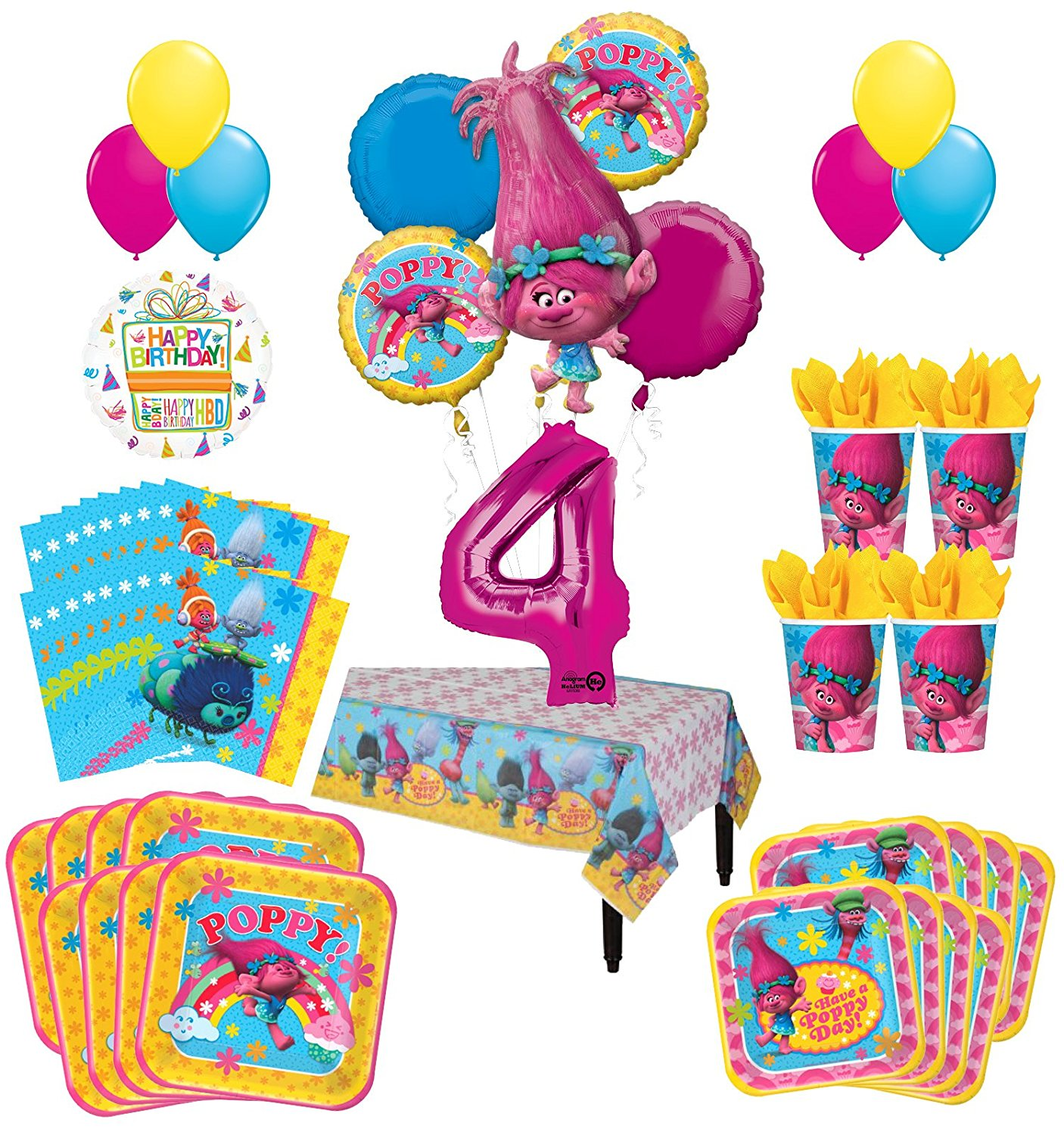 Party Packs Adventure Time Birthday Party Decorations Party Favors Adventure Time Party Supplies Ultimate Set Napkins And More Plates Toys Games