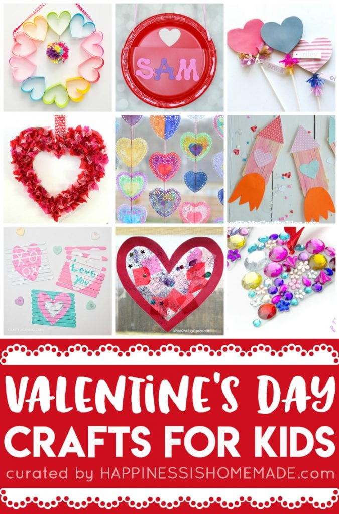 Valentine crafts toddlers happiness homemade, i love mom coloring pages