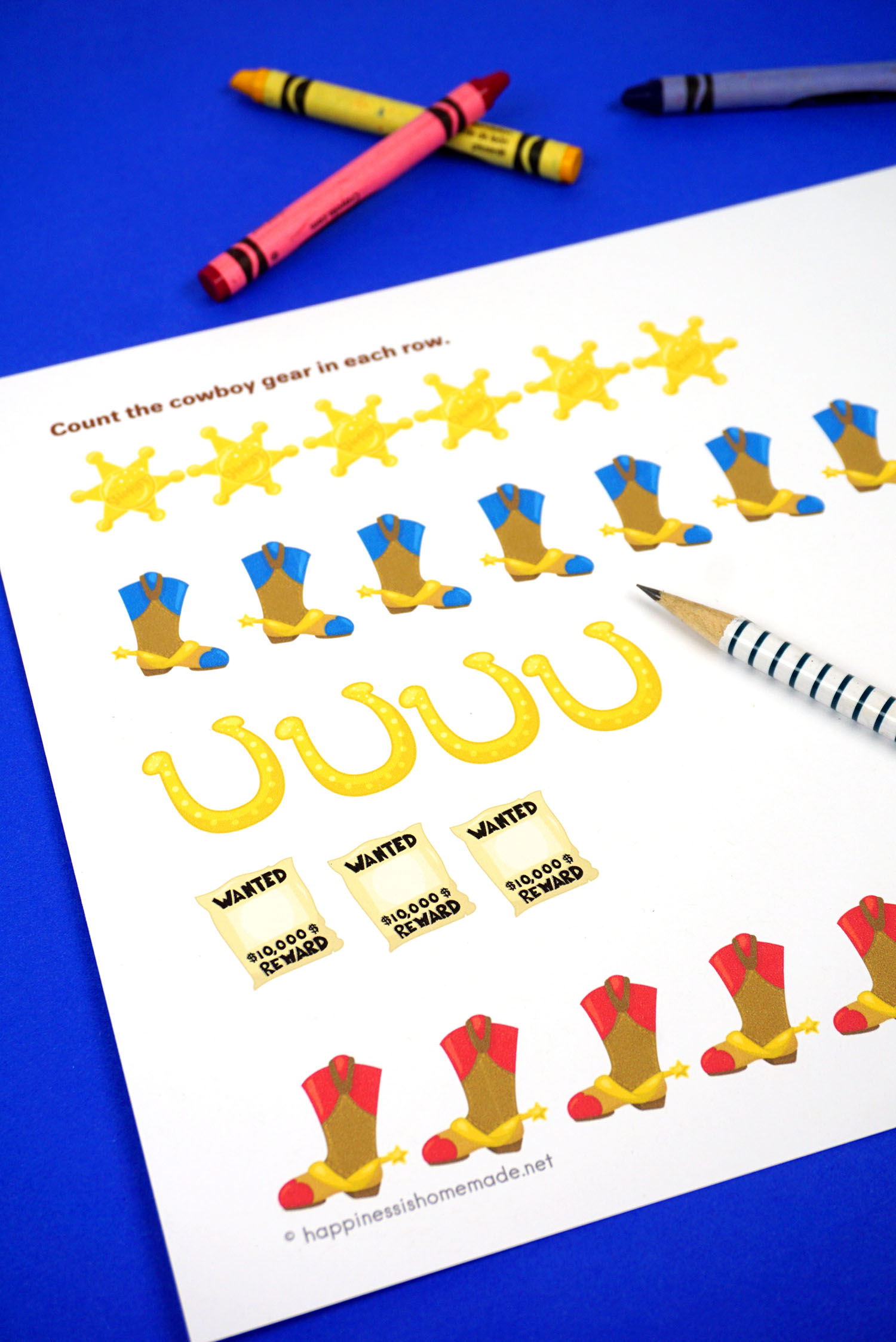 Preschool Worksheets Counting Amp Number Tracing Worksheets