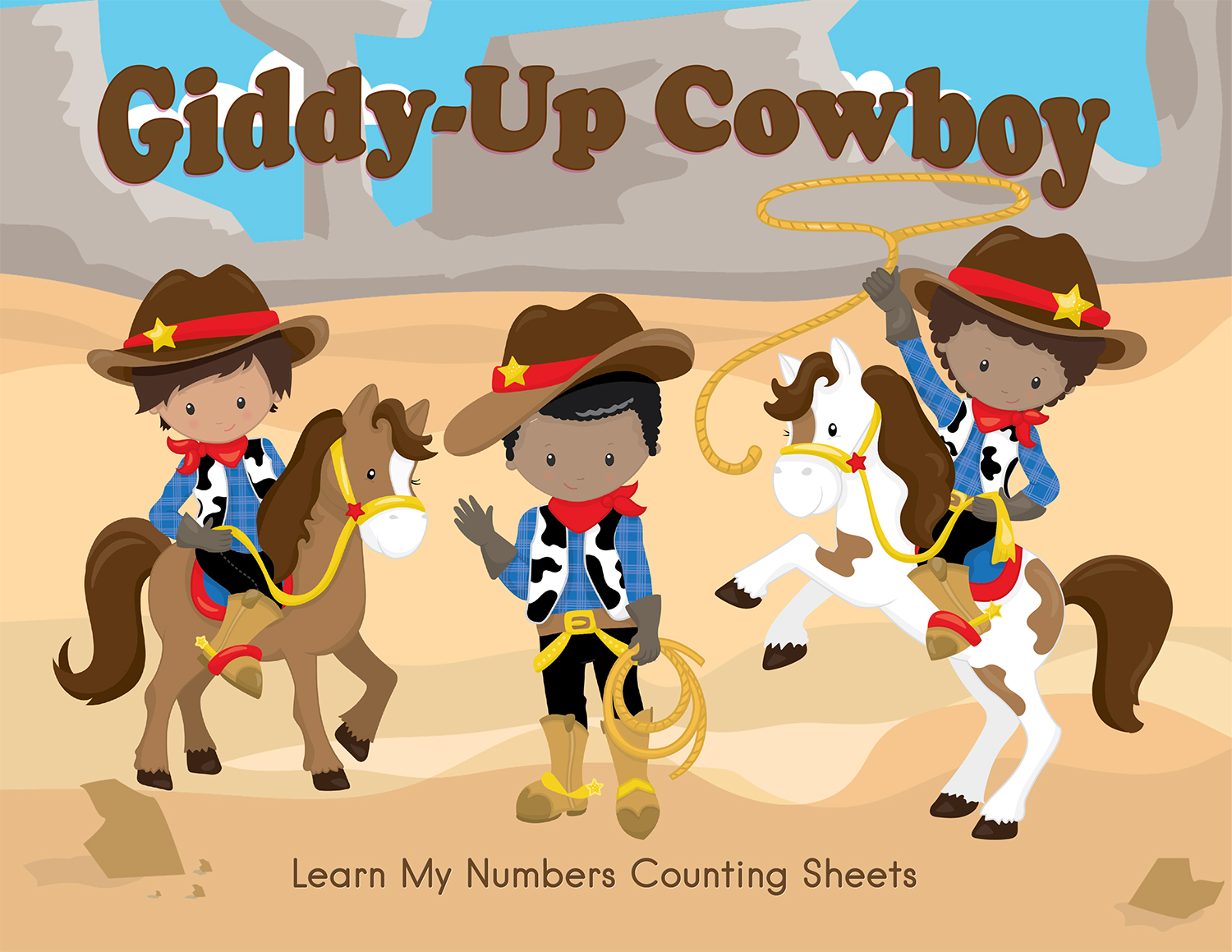 Western Kindergarten Worksheet
