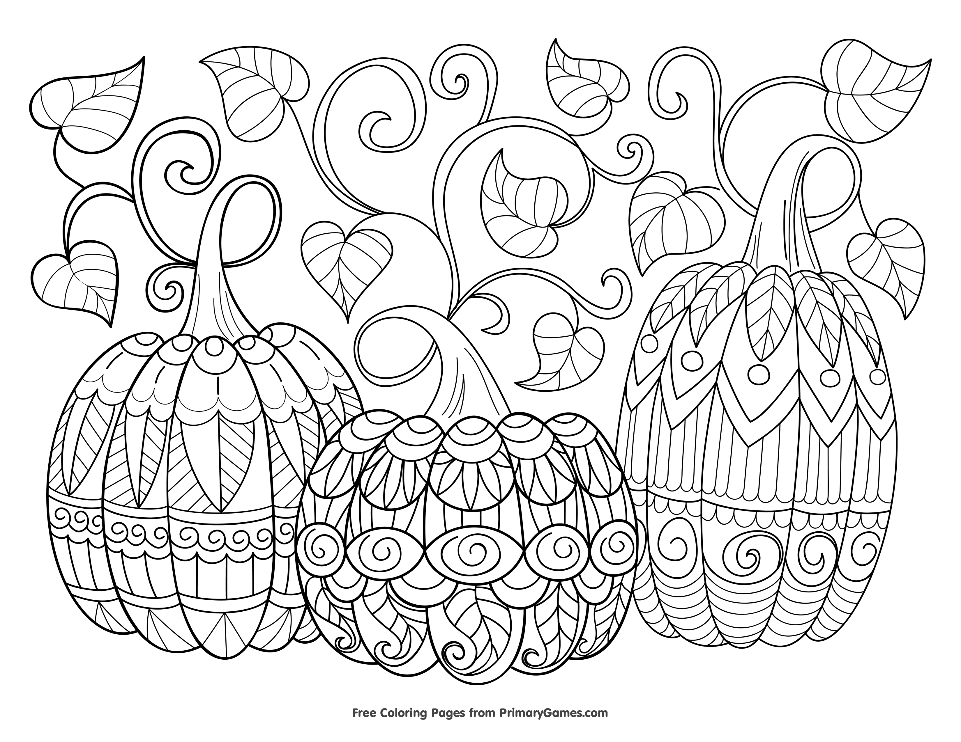 Free Halloween Coloring Pages For Adults Amp Kids