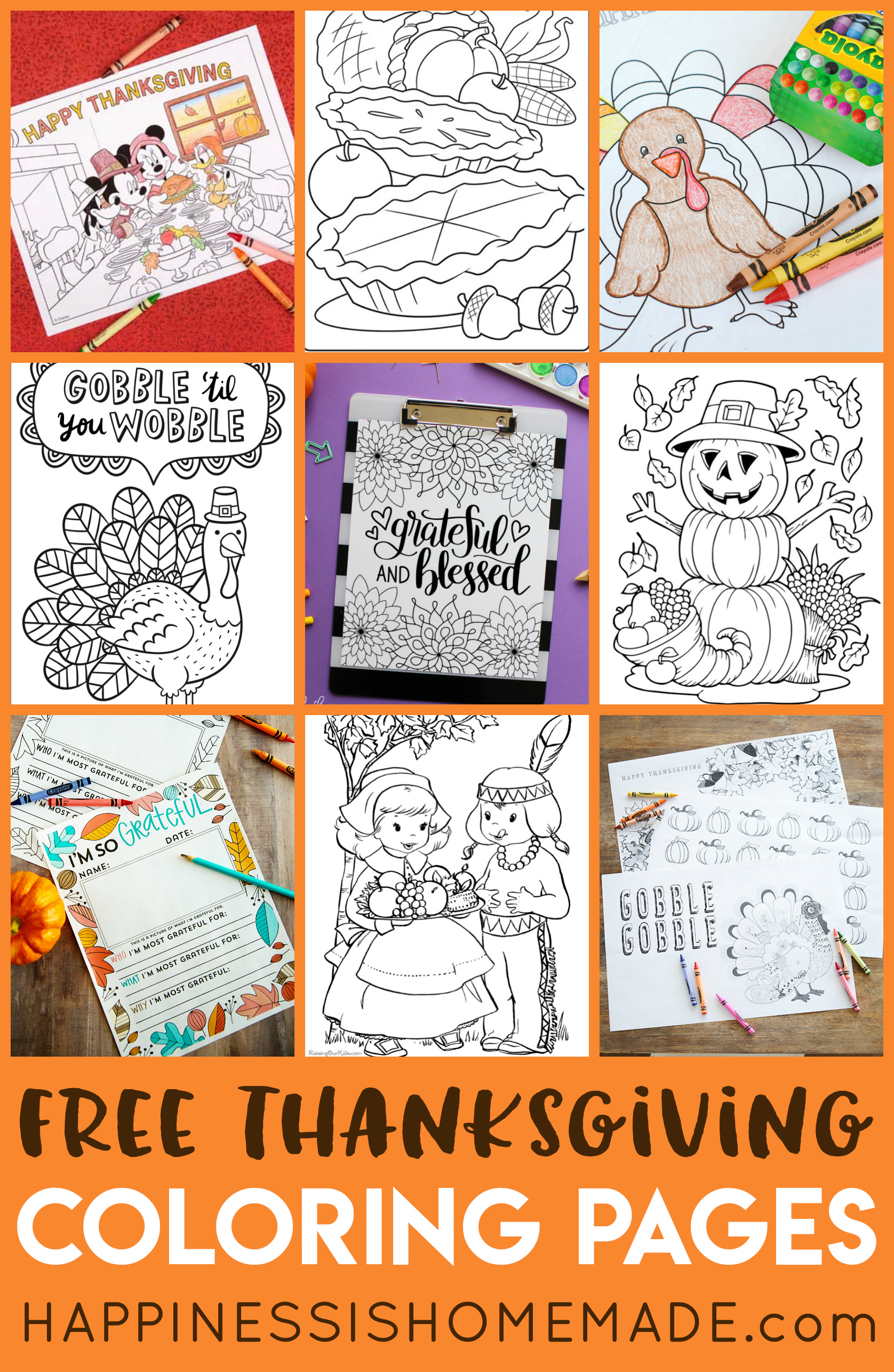 Thanksgiving Mad Libs Printable Game