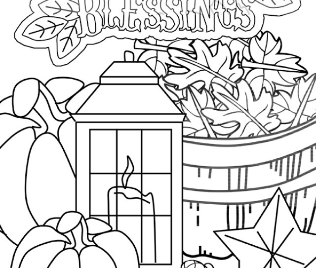 This Count Your Blessings Thanksgiving Coloring Page From Crafting The Word Of God Is A Great Way To Kick Off A Lesson In Gratitude