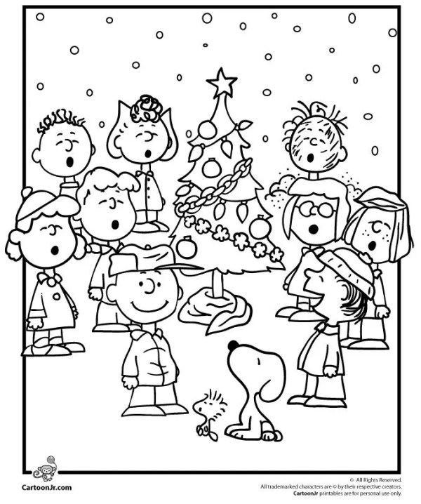 printable holiday coloring pages # 77