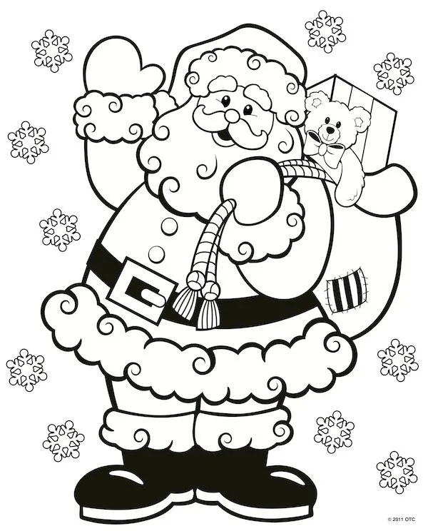 free printable holiday coloring pages # 22