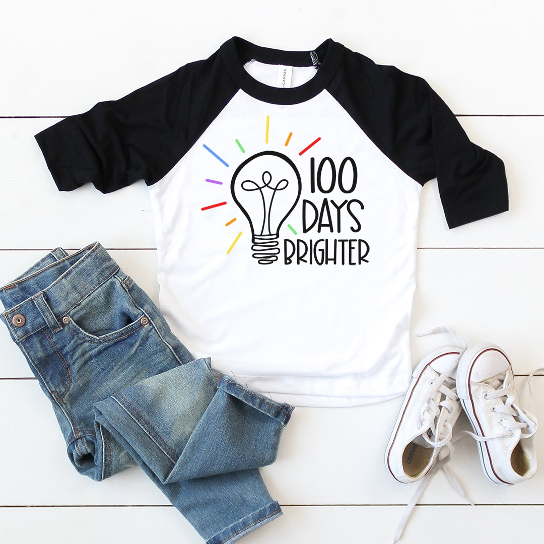 15 Free 100 Days Of School Svgs Happiness Is Homemade