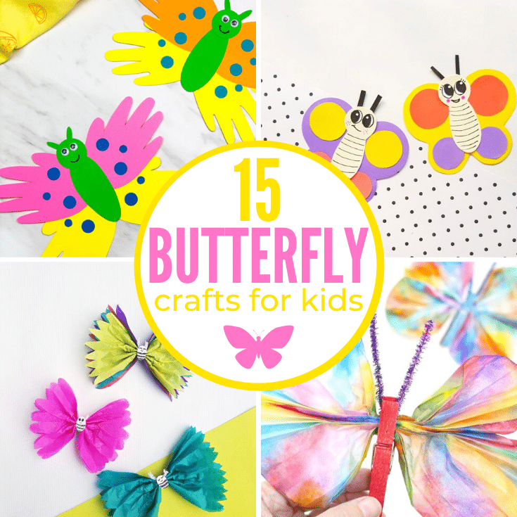 Cute Butterfly Crafts for Kids