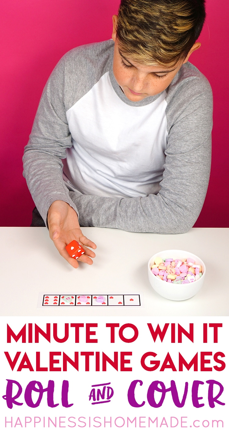 Minute-to-Win-It-Game-Roll-and-Cover Valentine