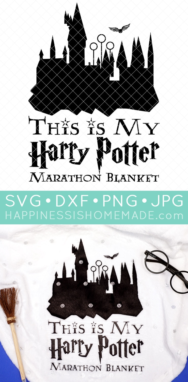 Free Harry Potter Svg Files : harry, potter, files, Harry, Potter, Marathon, Blanket, Happiness, Homemade