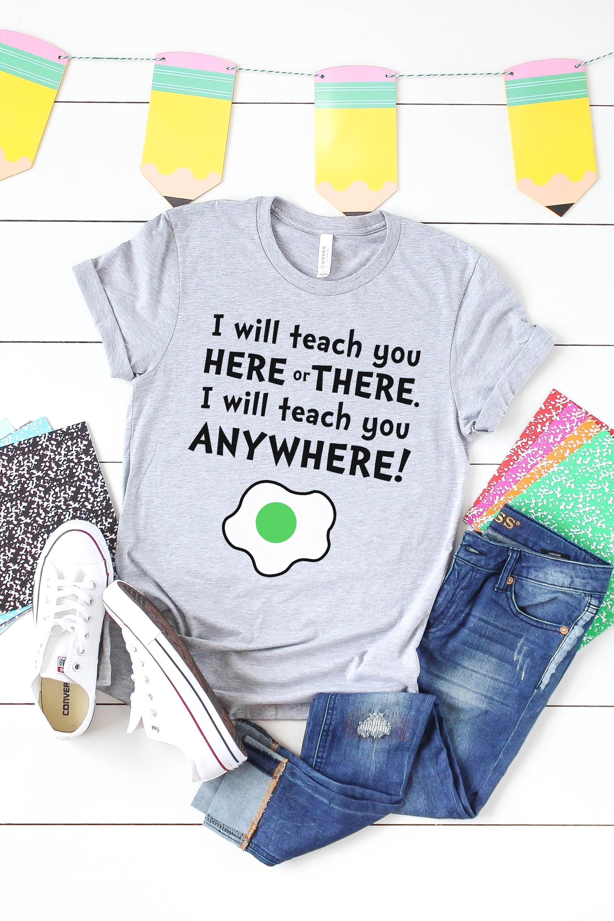 Dr. Seuss Inspired SVG File for Teachers