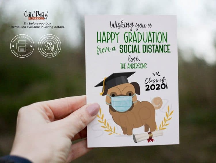 Simpy Graduation Card Printable Greeting Card for Grad Congratulations Graduate Card Printable Graduation Card Card for Graduate
