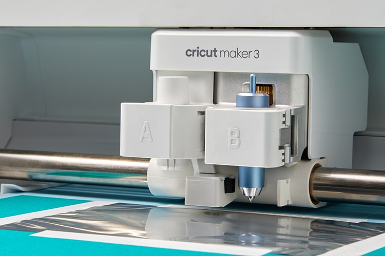 Cricut Maker 3 tool carrier with Foil Transfer System