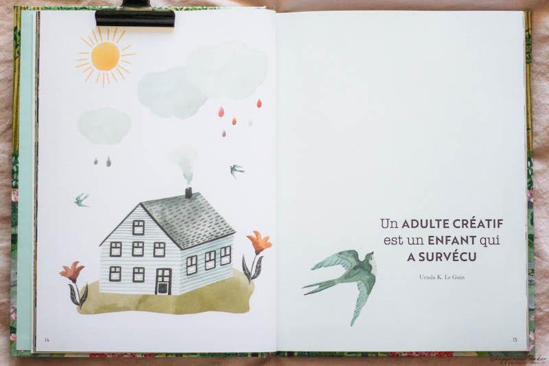 cahier art thérapie