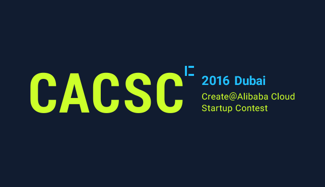 We had been selected to Create@ Alibaba Cloud Startup Contest at Dtec