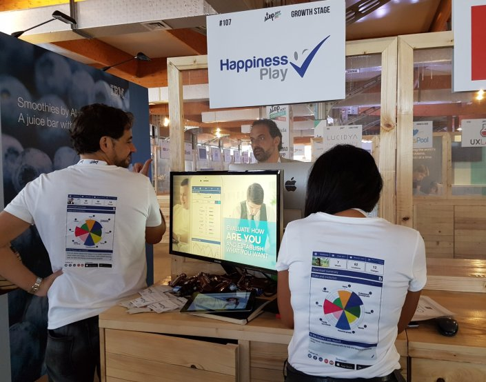 Happiness Play in Step 2017 Dubai