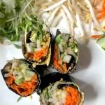 Raw Vegan Nori Roll - an Ageless Diet™ Recipe