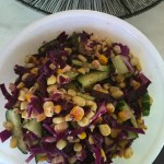 Grilled Corn and Cabbage Salad - an Ageless Diet™ Recipe
