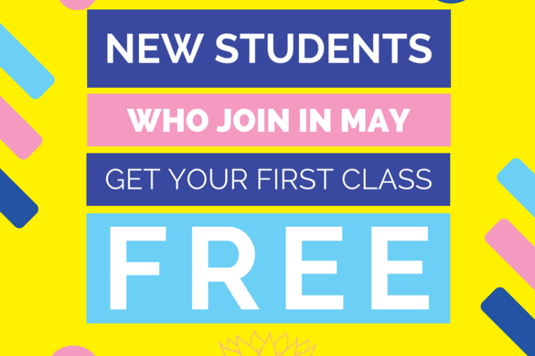First class FREE in May