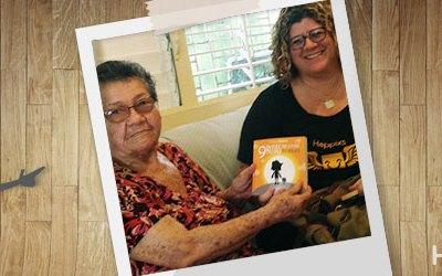 Historia Real: una niña de 14 años se motivó a leer con la felicidad nos contó la abuela.