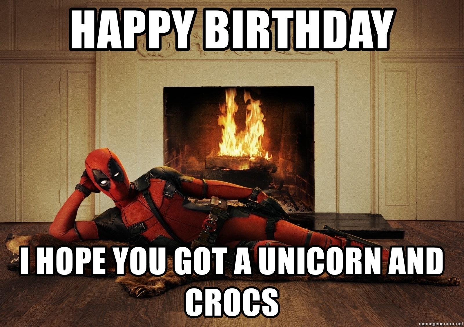 Deadpool Happy Birthday Meme Gif And Images